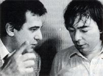 Плачидо Доминго и Эндрю